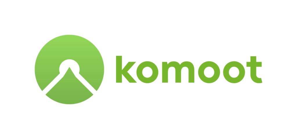 Logo komoot (c) Mediakit komoot.de