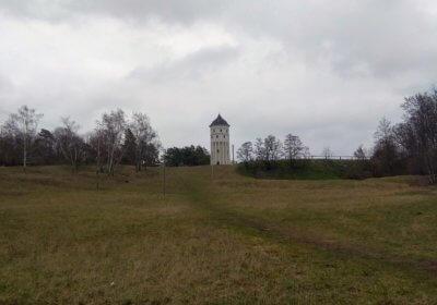 Wasserturm Rückmarsdorf auf der Abendrunde 5