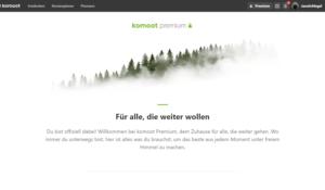 Komoot Premium - für alle, die weiter wollen