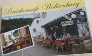 Brückencafe in Wolkenburg