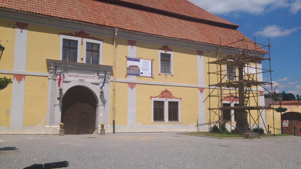Von Plzeň nach Horažďovice in Nepomuk (c) radelei.de