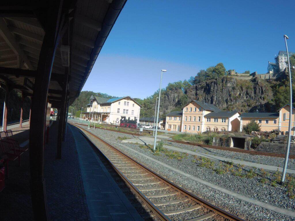 Bahnhof Wolkenstein (c) radelei.de