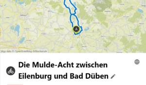 Mulde-Acht zwischen Eilenburg und Bad Düben
